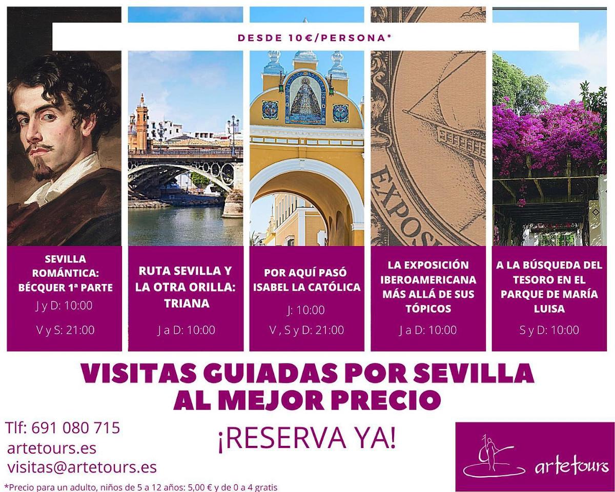 Cartel Artetours Sevilla